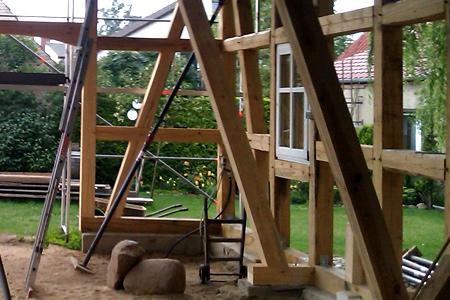 Zimmerei Doerks Fachwerk Dachstuhl Holzbau